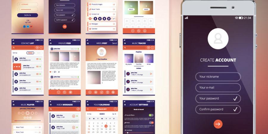 Các bước thiết kế app
