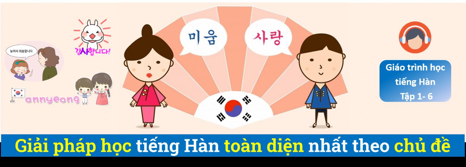 Kit Book giải pháp học tiếng Hàn toàn diện